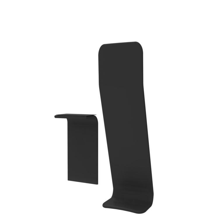 Tex Wave Totem Angular Table - Verso