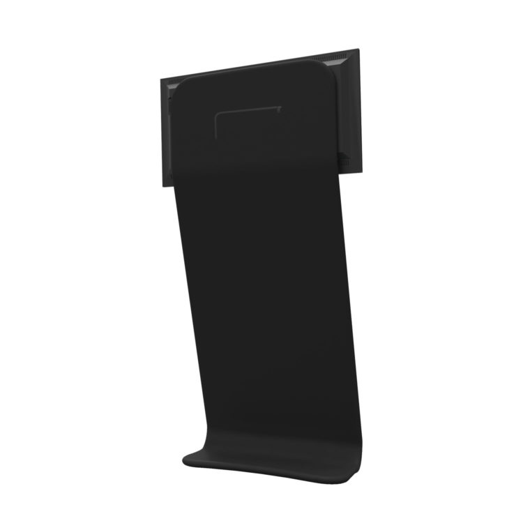 Tex Wave Totem Angular TV Holder - Verso
